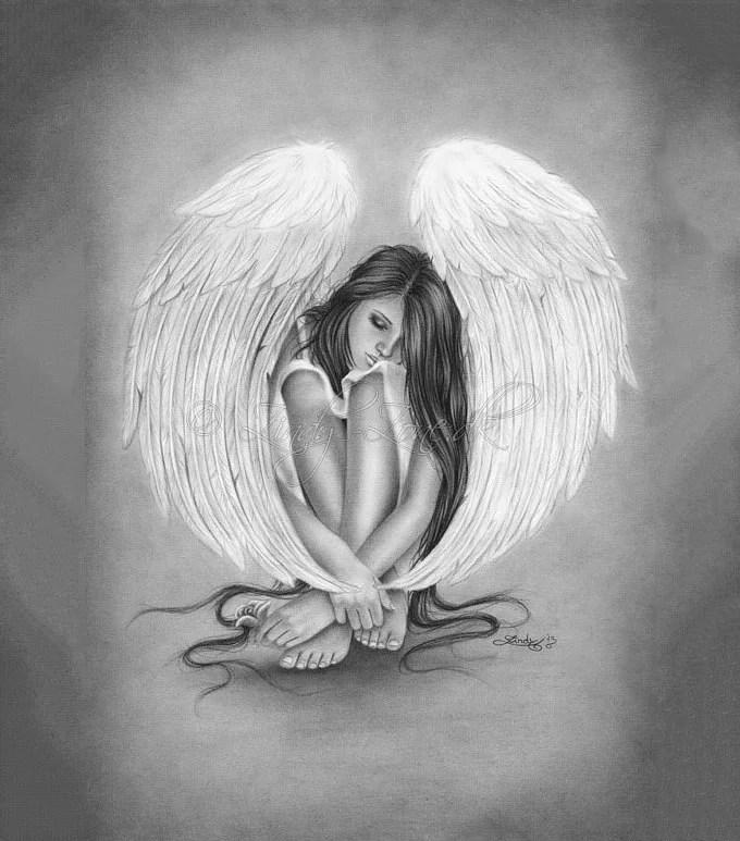 Broken Wing Male Fallen Angel