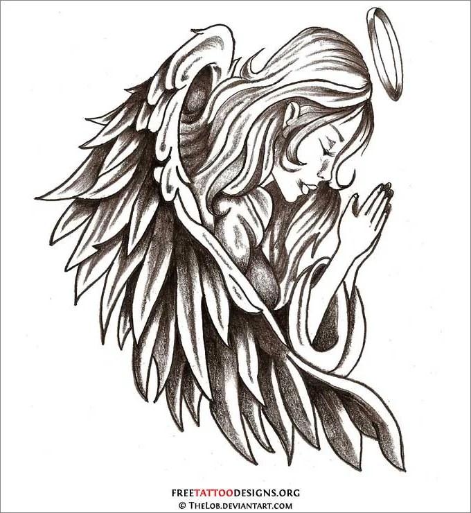 28 angel drawings free