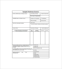 12+ Proforma Invoice Templates - PDF, DOC, Excel   Free ...