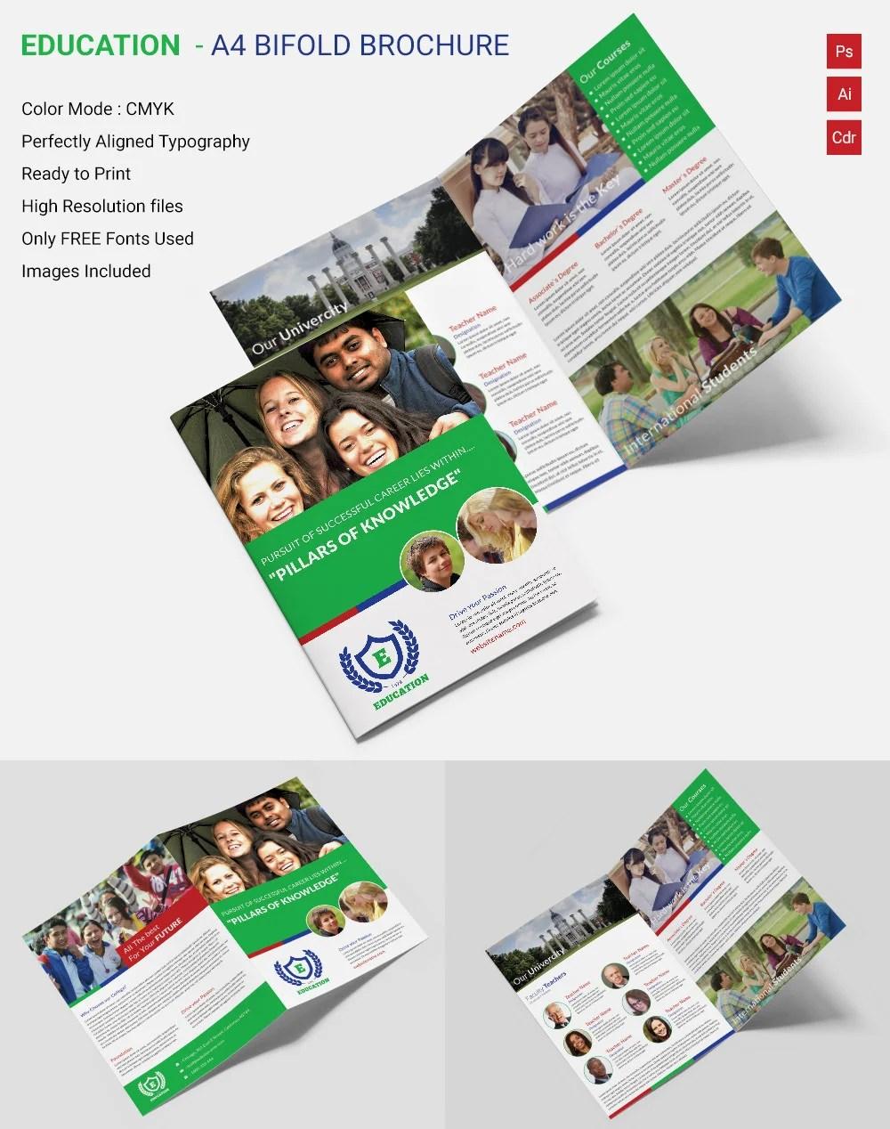 Free Educational Brochure Templates