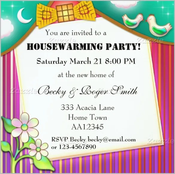 Housewarming Invitation Template 30 Free PSD Vector EPS AI