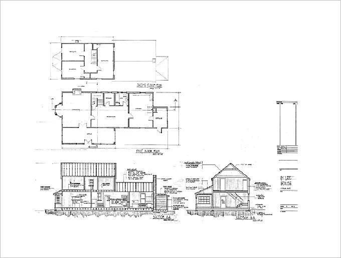 15 free architectural drawings