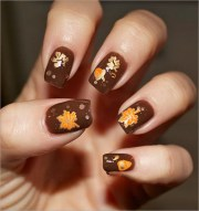 fall nail art design free