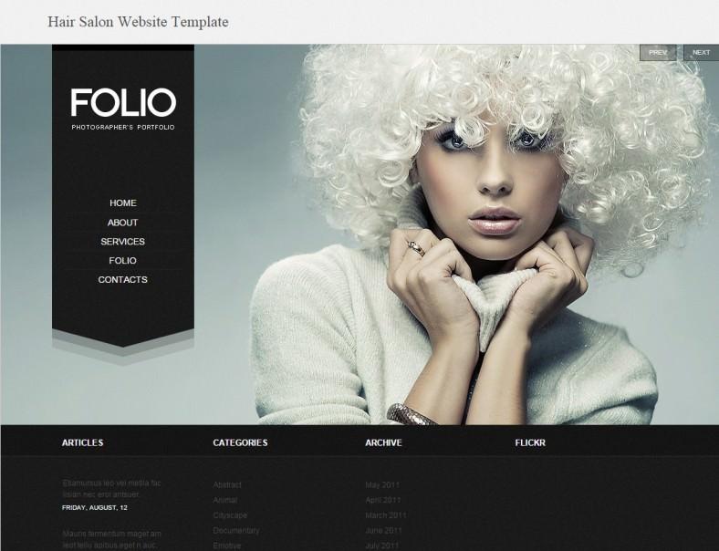 3 Best Hair Salon Joomla Templates  Themes  Free