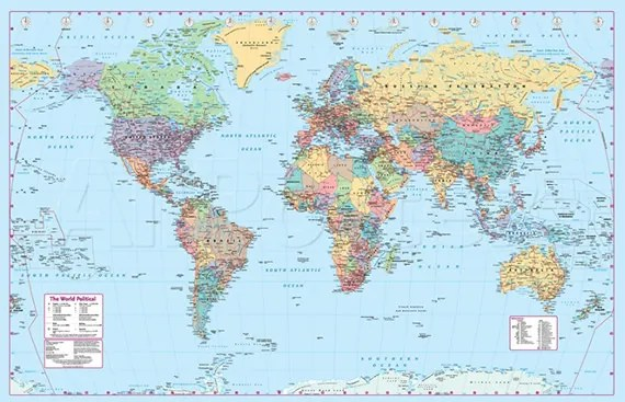 30 World Map PSD Posters Free PSD Posters Download
