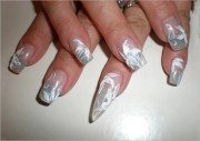 gel nail art design template