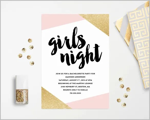 41 bachelorette invitation templates