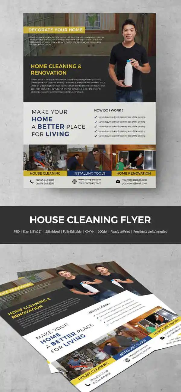 samples of business flyers