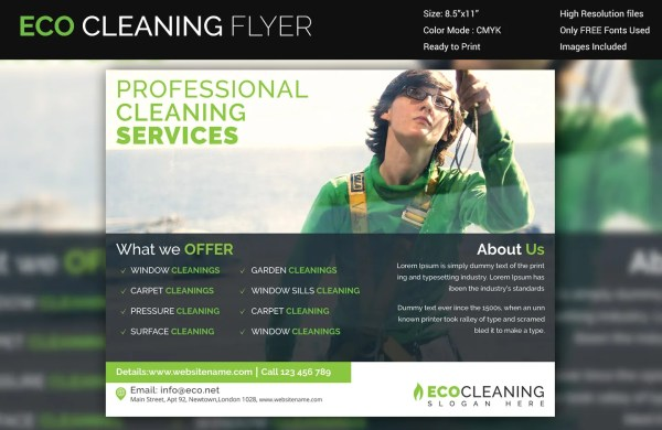 20 Eco Friendly Cleaning Flyers Pictures And Ideas On Meta Networks
