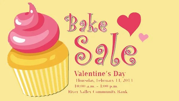 33 Bake Sale Flyer Templates Free Psd Indesign Ai