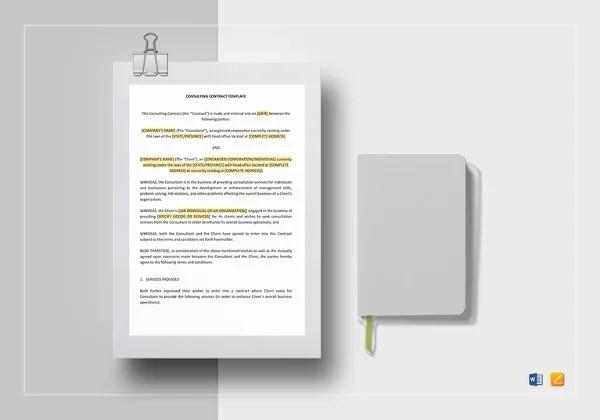 21+ HR Contract Templates| HR Templates | Free & Premium Templates ...