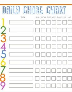 also pdf chore chart template rh widyapurimandiri