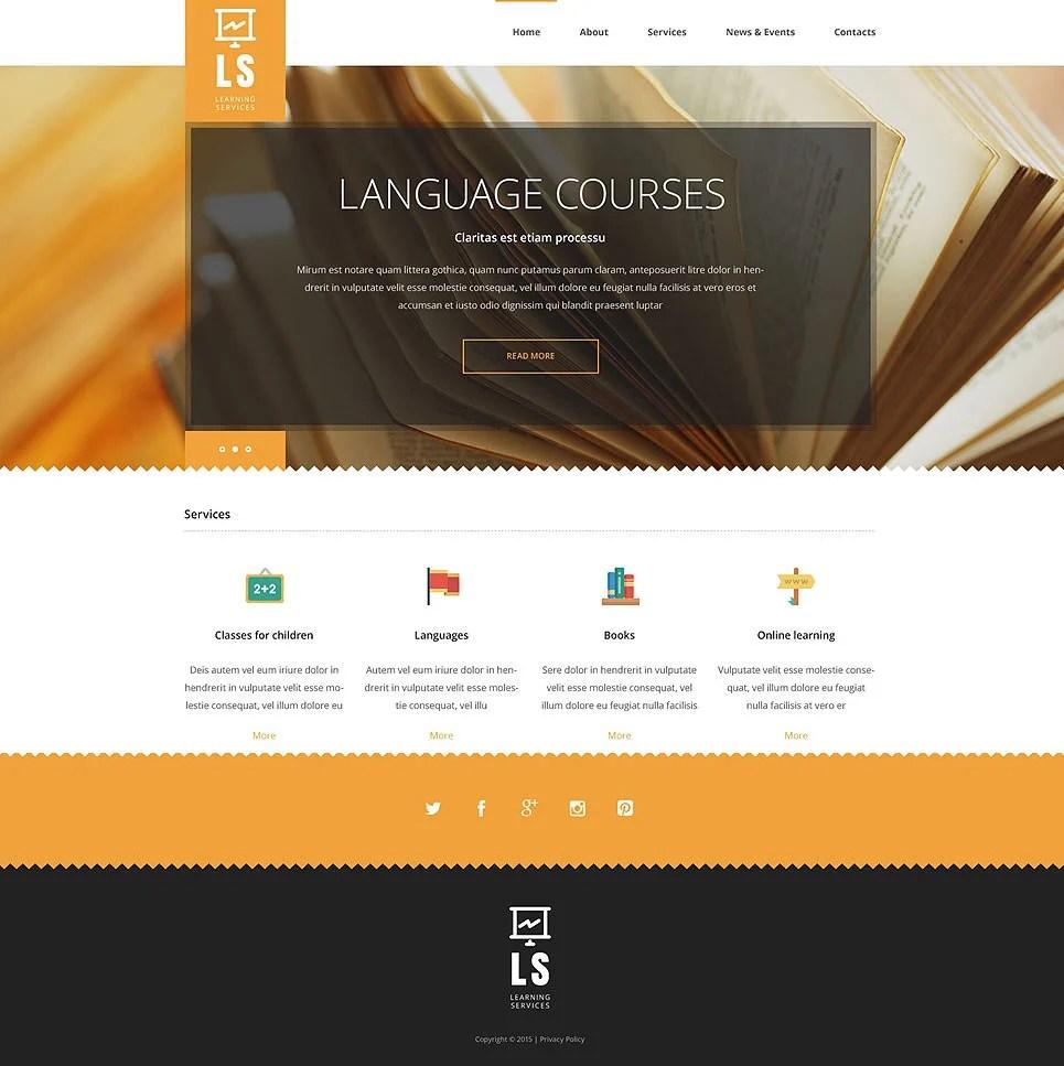 41+ College Website Themes & Templates | Free & Premium Templates