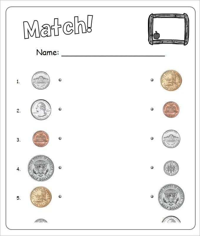 Coin sheets for kindergarten : Csno coin quest builder