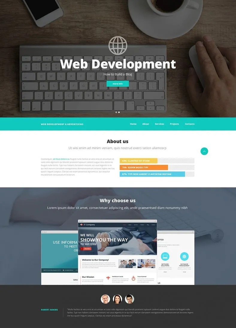 13 Awesome Website Templates  Themes for Web Developer  Free  Premium Templates