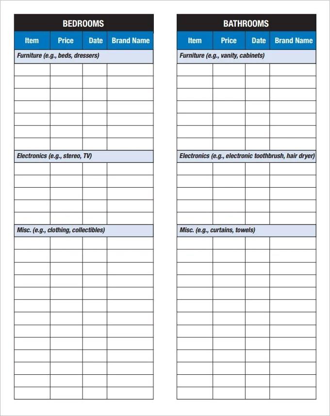inventory list form - Cypru.hamsaa.co
