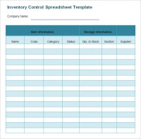 Inventory Spreadsheet Template - 48+ Free Word, Excel ...