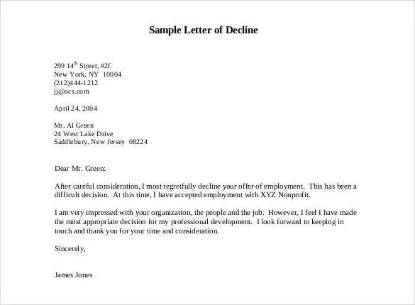 27 Rejection Letters Template  HR Templates  Free  Premium Templates  Free  Premium Templates