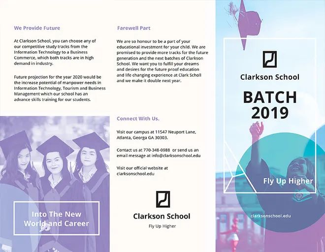 free school brochure templates