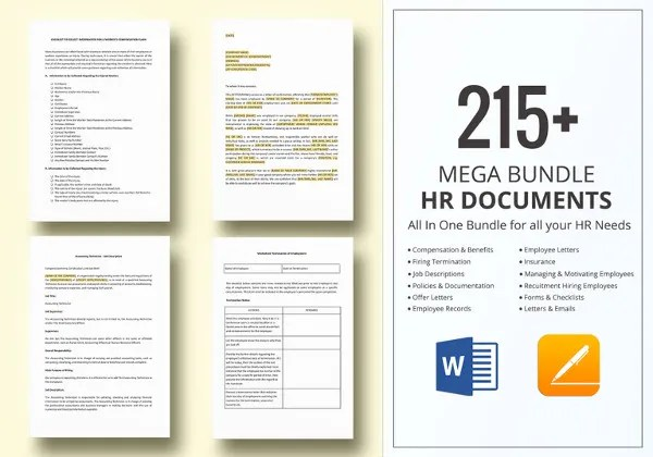 35+ Employee Handbook & Manual Templates | HR Templates| Free ...
