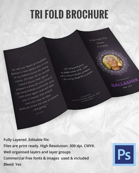 31 Funeral Program Templates – Free Word PDF PSD