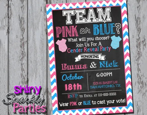 Simple Baby Shower Invitations