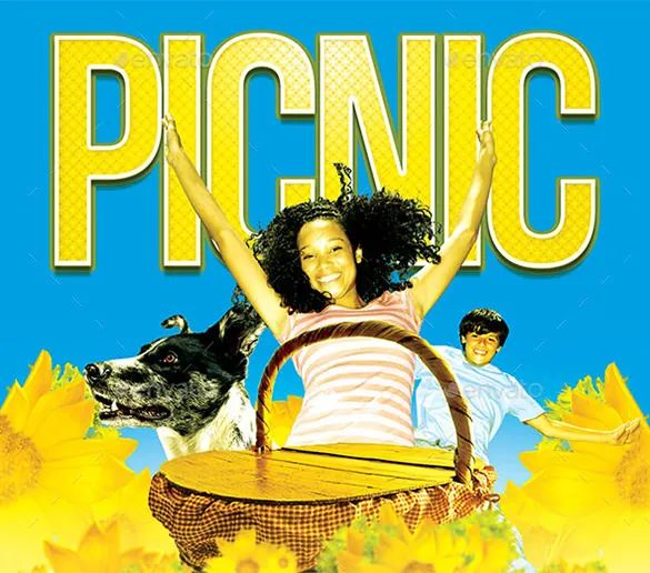 church picnic flyer templates