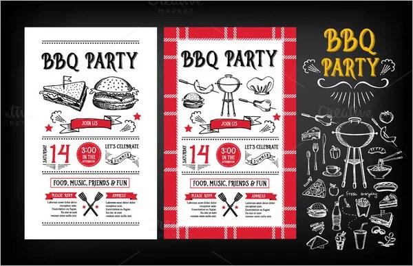 52 BBQ Invitation Templates  PSD Vector EPS AI  Free  Premium Templates