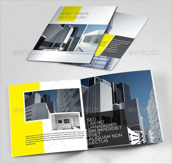Construction Brochure Template Ideal Vistalist Co