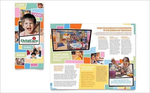 13 Beautiful Child Care Brochure Templates Free & Premium Templates