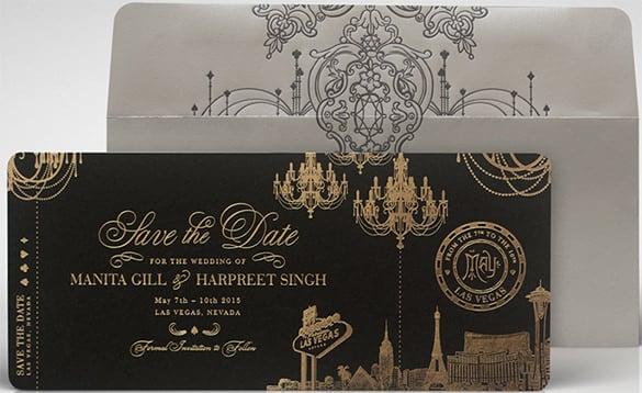 Free Wedding Invitation Las Vegas