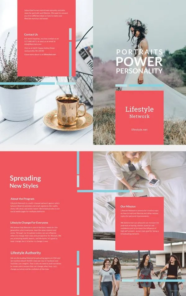 31 Modern Brochure Design Templates – PSD InDesign