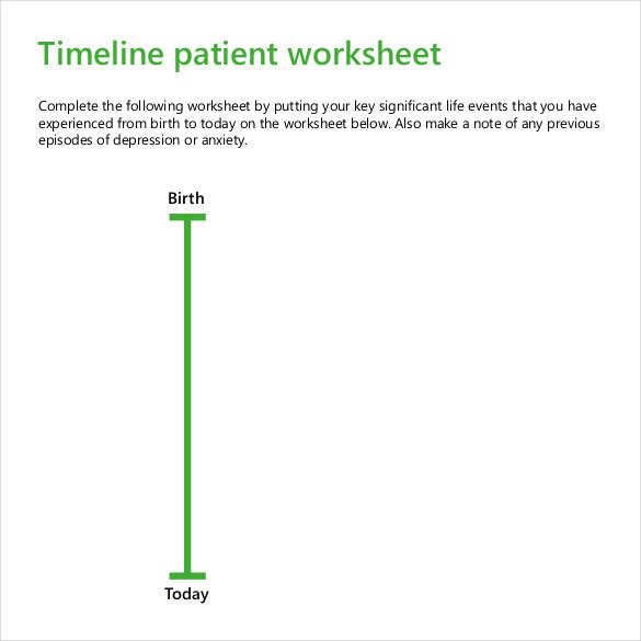 47 Blank Timeline Templates