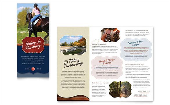 9 Amazing Camp Brochure Templates Free & Premium Templates