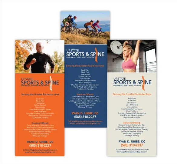 13 Best Chiropractic Brochure Templates – PSD Designs Free