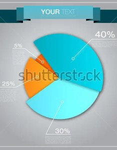 Colorful business pie chart template also free word excel pdf format download rh