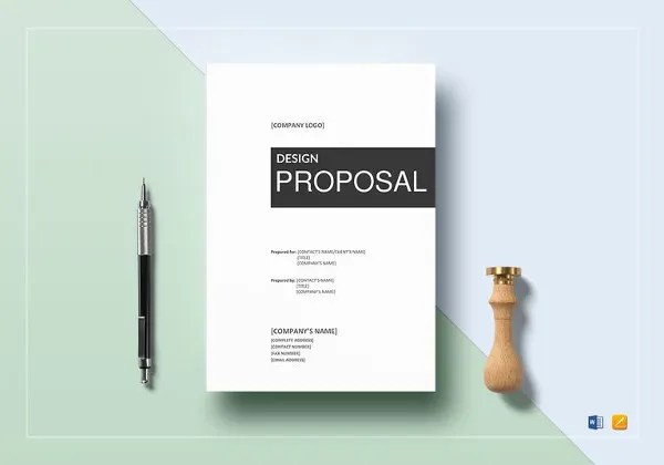 Design Proposal Templates 17 Free Word Excel PDF