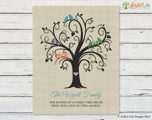 family tree clip art templates