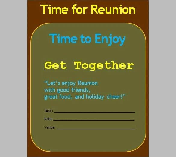 Get Together Invitation Cards – Get Together Invitation Template
