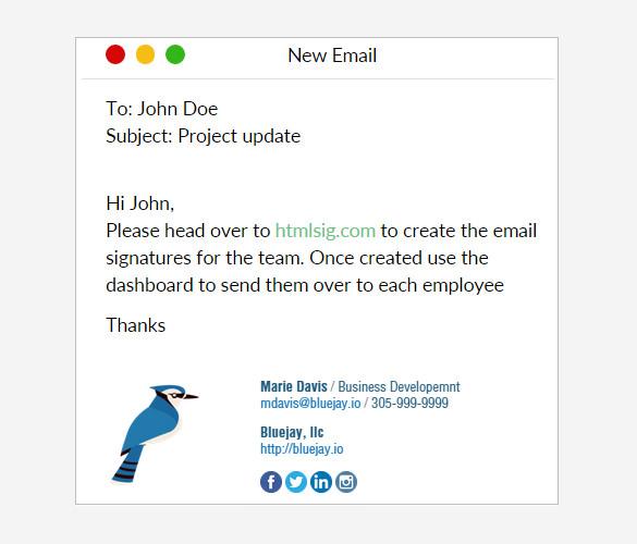 31+ Best Email Signature Generator Tools & Online Makers