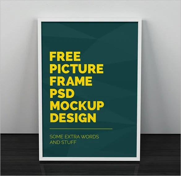 18 Poster Frame MockUps  Designs  PSD  Free  Premium