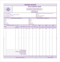 60+ Microsoft Invoice Templates - PDF, DOC, Excel | Free ...