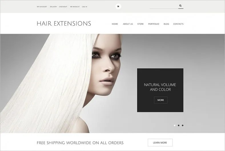 32 New Ecommerce Website Templates  Themes  June 2015