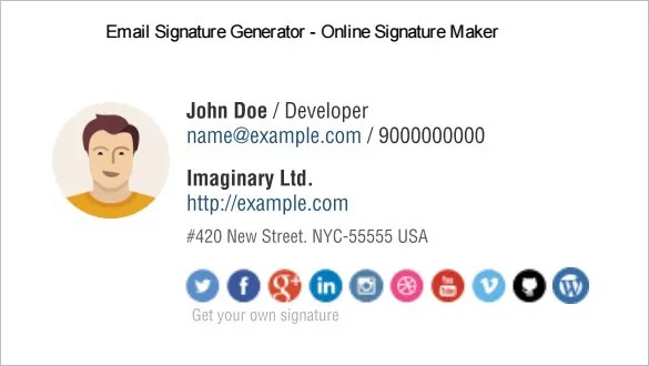 31 best email signature