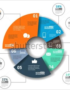 Modern paper pie chart also template free word excel pdf format download rh