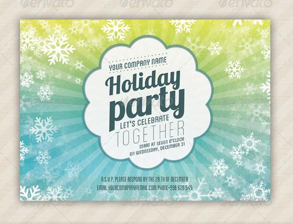 holiday invite templates