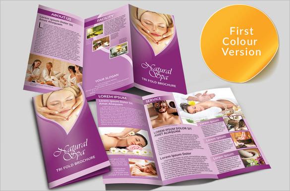 16 Amazing Spa Brochure Template & Designs Free & Premium Templates