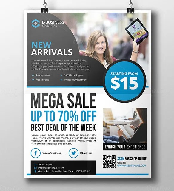25 Product Flyer Templates PSD Designs Word AI Free Premium Templates