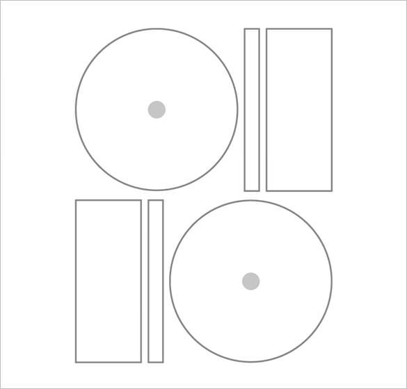 microsoft word cd label template