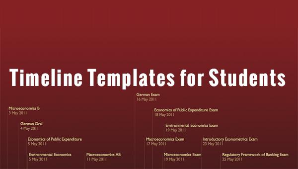 editable timeline template free